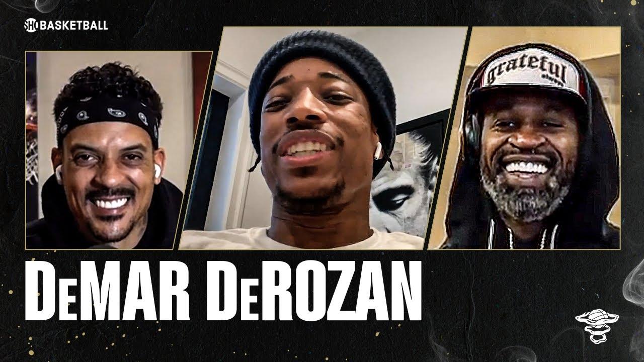 DeMar DeRozan | Ep 62 | ALL THE SMOKE Full Episode | SHOWTIME Basketball