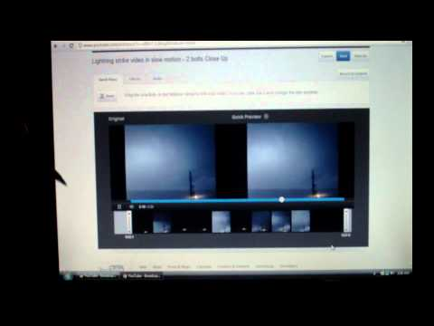 How to change your video thumbnail on YouTube - 2012 Tutorial