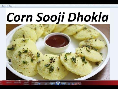 Corn sooji dhokla recipe by Raks HomeKitchen