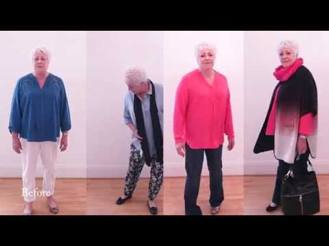 Makeup, Clothes and Hair For Older Women - Apple Shaped