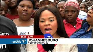 People in Johannesburg react to Zuma