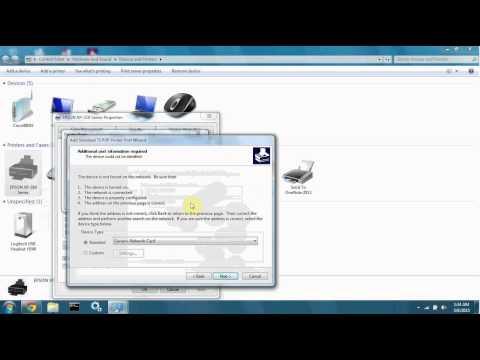 Add a TCP/IP Printer Port