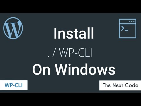 How to install WP CLI on Windows Tutorial