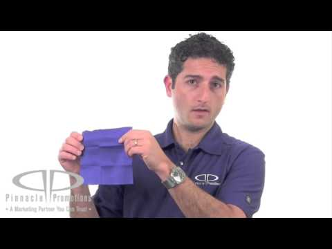 Microfiber Cleaning Cloth in Case Video