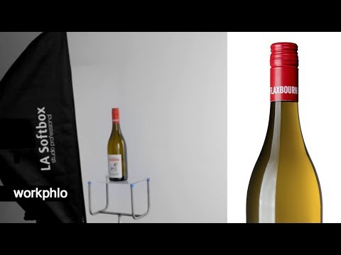 White Wine | Catalog White Product Photography