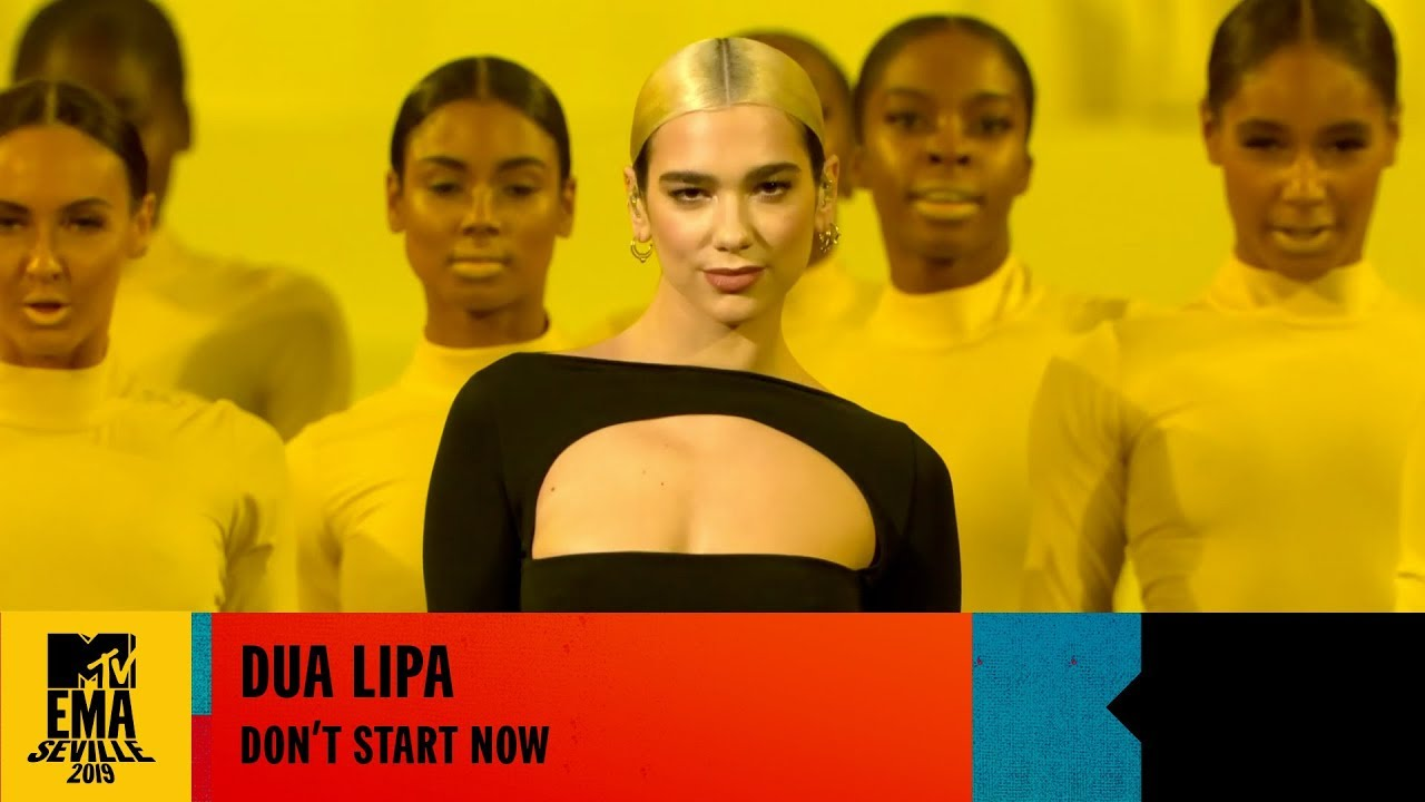 Dua Lipa - Don't Start Now (Live at the MTV EMAs 2019)