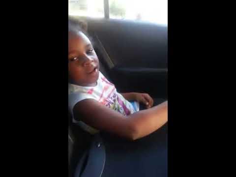 Little Black Girl Speaking Korean to Taxi Driver (English Subtitles) 외국인이 한국을 말한다