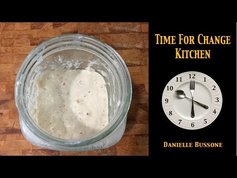 Wild Yeast Sourdough Starter and Quick Method of Making Starter