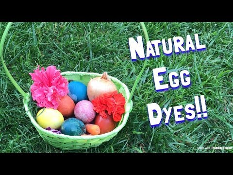 SURPRISING Homemade Easter Egg Dyes | Fun For The Whole Family