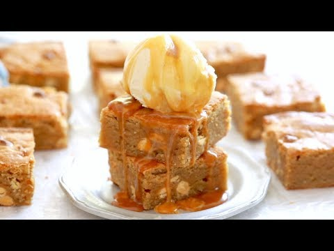 Gemma's Best Ever Blondies Recipe - Gemma's Bigger Bolder Baking