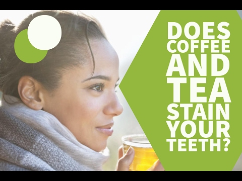 Does Coffee and Tea Stain Your Teeth?