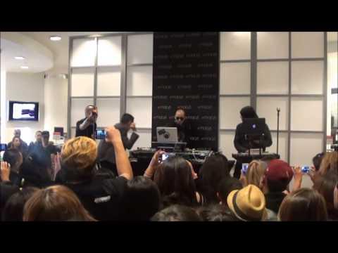 8asians.com: Macy's San Francisco / Union Square: Far East Movement Interview & Concert