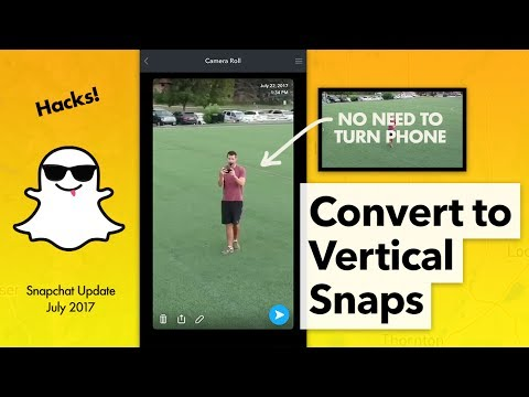 How to Convert Video to Vertical for Snapchat