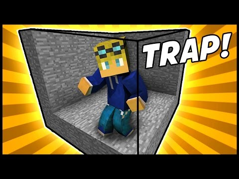 FOREVER STUCK TRAP! - Minecraft Tutorial