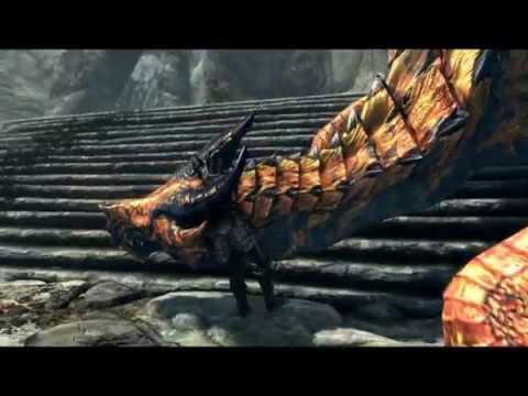 Skyrim Special Edition - Flying Dragons