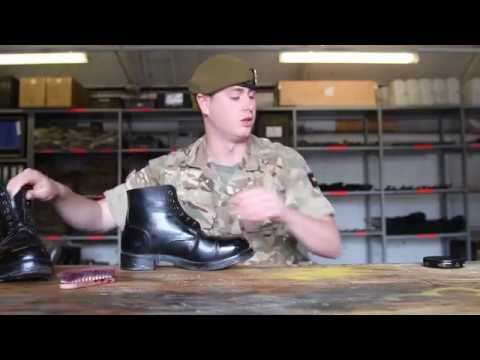 How To | Polishing boots | British Army