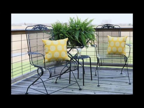 How to Prep and Spray Paint a Metal Chair