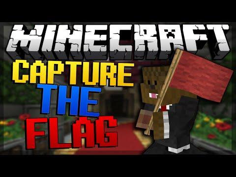 Minecraft Capture The Flag Minigame w/ JeromeASF & Friends!