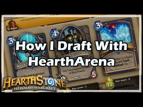 [Hearthstone] How I Draft With HearthArena
