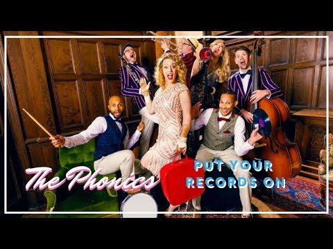 The Phonics // Put Your Records On // Book at Warble Entertainment