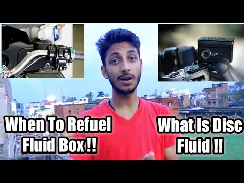 What Is Disc Fluid in Bike , How It Works ?? , When To Refuel ??