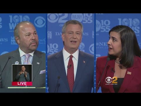 Final 2017 NYC Mayoral General Election Debate