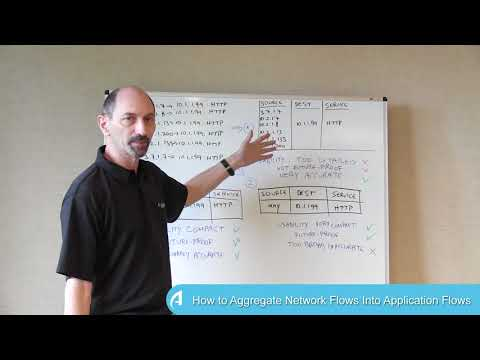 How to Aggregate Network Flows Into Application Flows