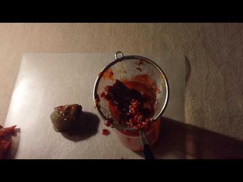 Making Honeysuckle Ink