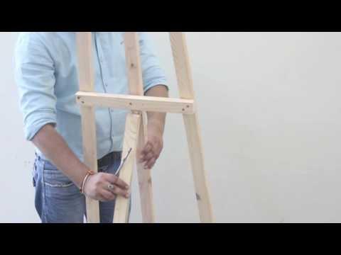ISOMARS Canvas Easel Assembling