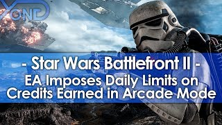 EA Imposes Daily Limits on Credits Earned in Battlefront 2