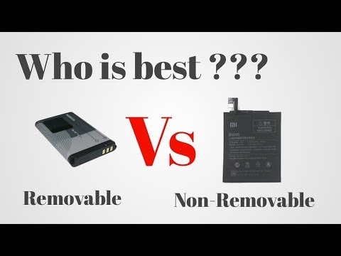 Who is best ?? Removable battery VS Non-removable battery    my experience explained in hindi