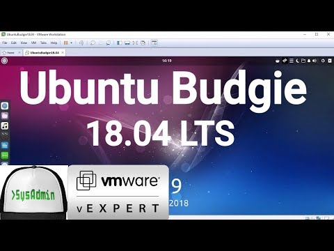 How to Install Ubuntu Budgie 18.04 LTS Beta + VMware Tools + Review on VMware Workstation [2018]