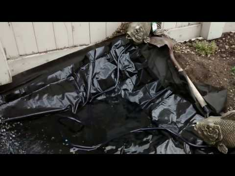 How to make small pond and fountain for garden P6