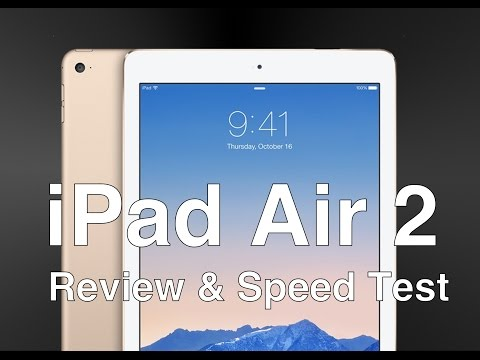 iPad Air 2 REVIEW & Speed Test
