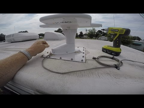 Installing The King Jack Antenna