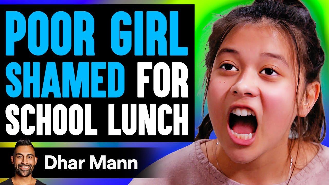 Poor Girl Shamed For Her School Lunch, Ending Is Shocking | Dhar Mann