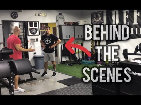 UFC Fighter Mickey Gall working w/ Joe DeFranco | Special Strength Exercises for MMA