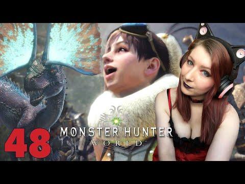 FLASHING! LEWDNESS! + HAMMER TIME! - Monster Hunter: World Gameplay Walkthrough Part 48