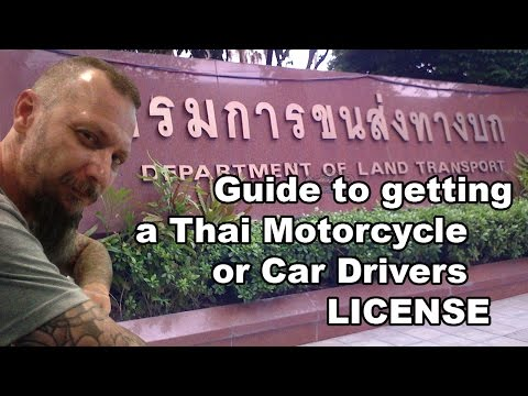 How to get a Thai Drivers Licence FAST in Thailand