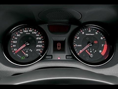 Renault Megane 2 Service Reset / Réinitialisation service ( Vidange )