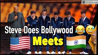 Michael Jackson Meets INDIAN Bollywood Dance | Steve Harvey | Shraey Khanna | Showtime at Apollo Fox