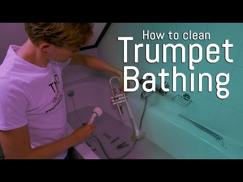 How to trumpet - Bathing & cleaning!