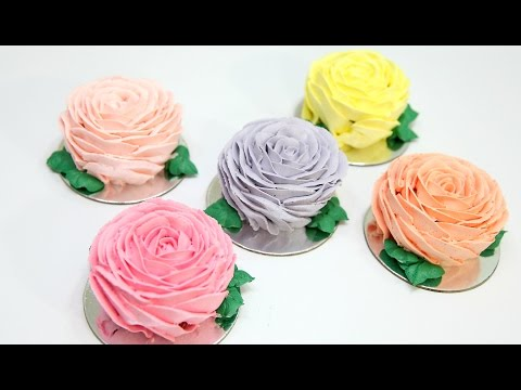 MINI Rose FLOWER Cakes