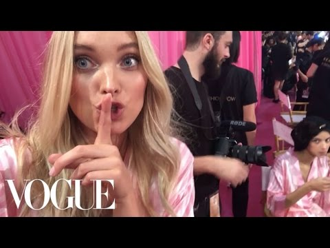 Get Some Face Time With Kendall, Gigi, and the VS Angels