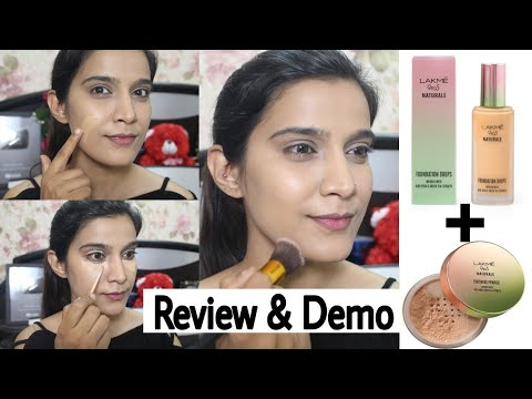 *New* Lakme 9 To 5 Naturale Foundation | How to apply Foundations with Brush | Super Style Tips