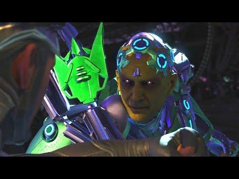 Injustice 2 - Superman Vs Brainiac - All Intro Dialogue/All Clash Quotes, Super Moves