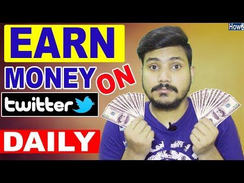 How to Earn Money on Twitter  | Get Sponsorship Free |  Hindi Urdu 2018