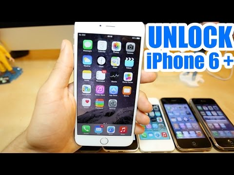 How To Unlock Iphone 6 Plus - AT&T, Rogers, T-mobile, Vodafone, etc.. Unlock Iphone 6 Plus