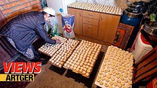 Mongolian Family Makes 2,000 BUUZ (Dumplings) For The New Year Celebration | VIEWS