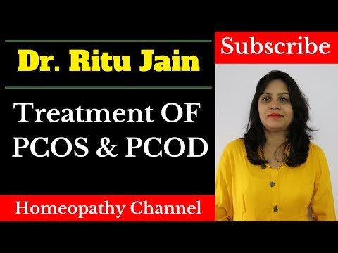 Homeopathic Treatment For PCOS  - How To Cure PCOD  Disease By Homeopathic Medicine